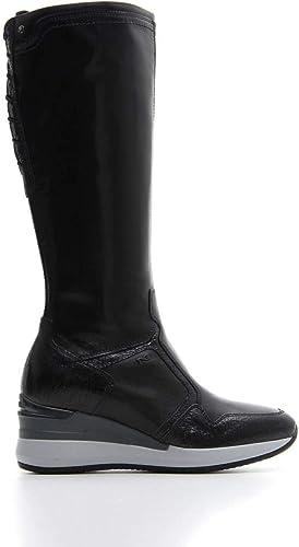 nero giardini scarpe autunno inverno 17, donna stivali nero
