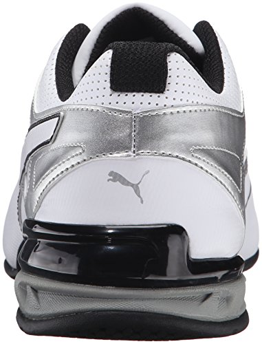 PUMA Men's Tazon 6 FM Puma White/ Puma Silver Running Shoe - 7.5 D(M) US by PUMA (Image #2)