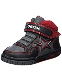 Geox Boys' Gregg High Top Sneaker
