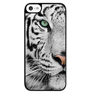 Season.C White Tiger Protective Hard Back Case Cover for iPhone 4 4S