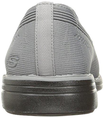 Skechers Heren Walson Morado Instappers Loafer Lichtgrijs