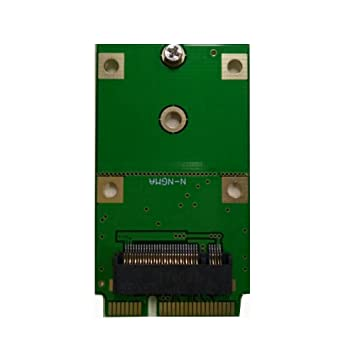 Amazon.com: aneew M.2 NGFF SSD a mSATA adaptador, soporte ...