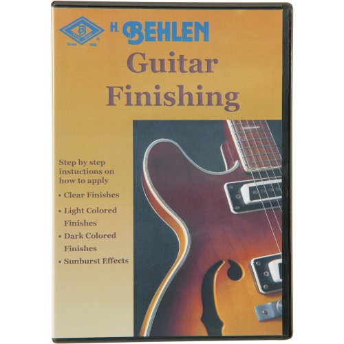 Behlen T21359 Guitar Finishing DVD by H. Behlen