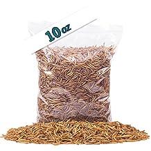 Golden Grubs Dried Mealworm 100% All-Natural High-Protein For Chicken, Duck, wide bird (10oz)