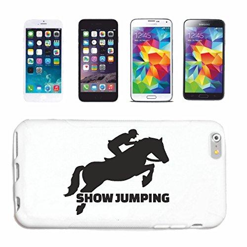 """cas de téléphone iPhone 7+ Plus """"MONTRER JUMPING EQUITATION RIDER ÉQUESTRE DRESSAGE HORSE HEAD RIDING RODEO COWBOY JUMPING HORSE STALLION PONY"""" Hard Case Cover Téléphone Covers Smart Cover pour Apple"""