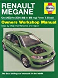 Renault Megane Petrol and Diesel Service and Repair Manual: 2002 to 2005 (Haynes Service and Repair Manuals) by R. M. Jex (2006-01-20)