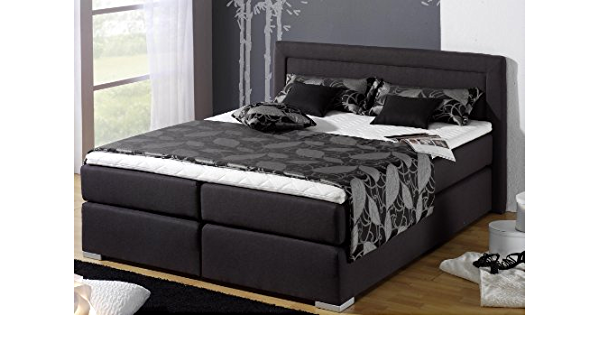 Estilo Cama de cama de cama tapizada camas con somier ...