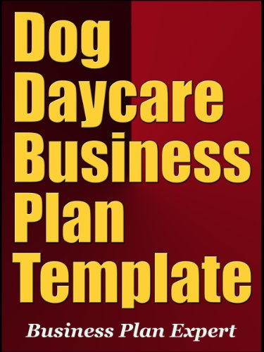 Dog daycare business plan template