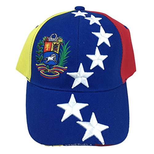 Tricolor Baseball Hat from Venezuela