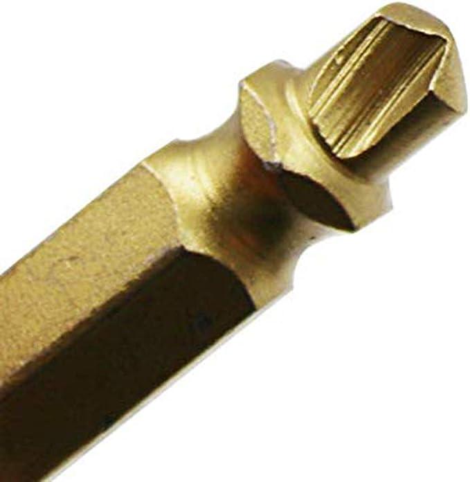 Extracteur de Vis de Pr/écision Set 4Pcs Titane Placage Cass/é Extracteur de Retrait de Goujon de Boulon pour LEnl/èvement de Boulon