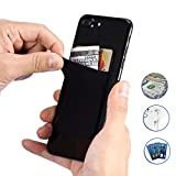 Phone Adhesive Wallet,LANMU Phone Card Holder,Cell Phone Card Sleeves,Phone Credit Card Wallet for iPhone7/7Plus/6/6 Plus/Samsung and Other Smartphones