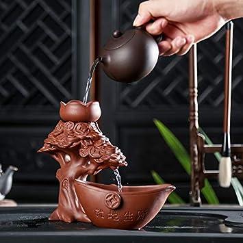 GBCJ Teeservice Kreativer Teefilterteefilter, lila Sandtee-Durchsickern, angemessene Schale, Kung Fu-Teesatz, Tee-Straßen-Zusätze, fauler Teefilter., Schütteln Sie Qian Shu - schicken Sie Teemeer - Teeabfluß