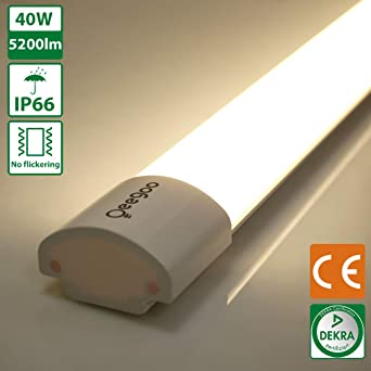 Oeegoo LED Plafonnier, 150CM Tube LED, 40W 5000LM Eclairage Sans ...