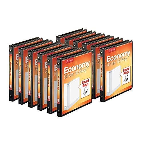 Cardinal Economy 3-Ring Binders, 1/2