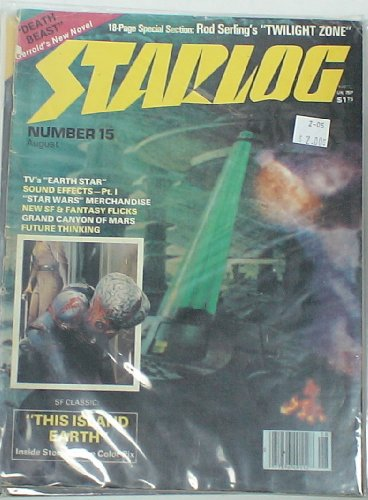 Starlog Magazine #15 1978: This Island Earth, Earth Star, Star Wars