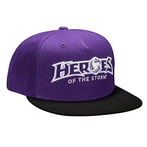 JINX Heroes of The Storm Strike Team Snapback Baseball Hat, Multi-Colored, One Size (Looking For Heroes Of The Storm Team)