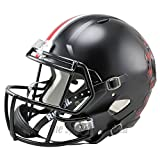 Ohio State Buckeyes Black Officially Licensed NCAA Speed Full Size Replica Football Helmet