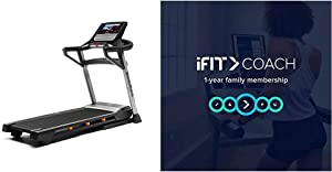T Series 9.5S Treadmill with iFit 1-Year Individual Membership-Free Trial [Subscription]