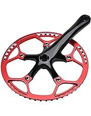 Crankstelarm, Mountainbike-crankstel, Holle integrale fietsaccessoire van aluminiumlegering, Reparatieaccessoire voor enkele snelheid, Standaard precisiebewerkingsaccessoire voor