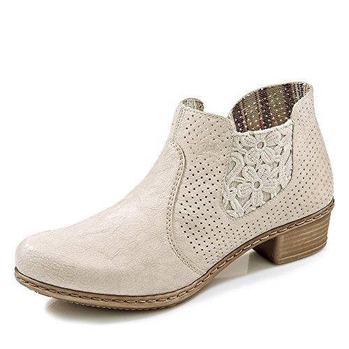 Rieker, Stivali donna bianco bianco 36
