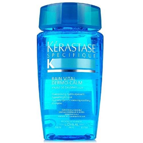Kerastase Dermo-Calm Bain Vital Haute Tolerance for Sensitive Scalp Hair Shampoo, 8.5 Ounce