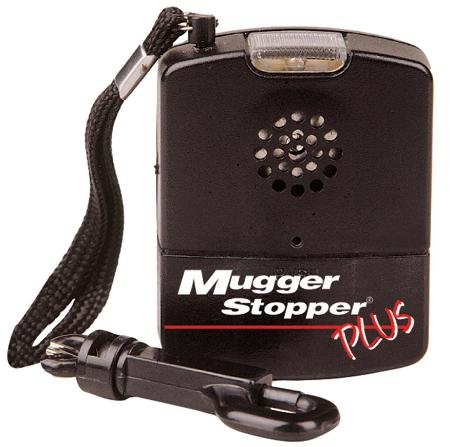 Safety Technology International The Mugger Stopper Plus 120 Db Alarm Flashlight Feature