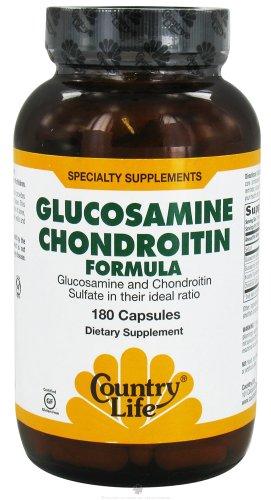 Country Life - Glucosamine chondroïtine Formula - 180 Capsules auparavant à Biochem