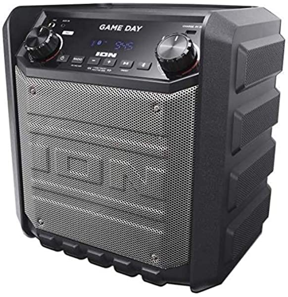 Amazon Com Ion Tailgater Express Game Day Bluetooth Speaker Electronics