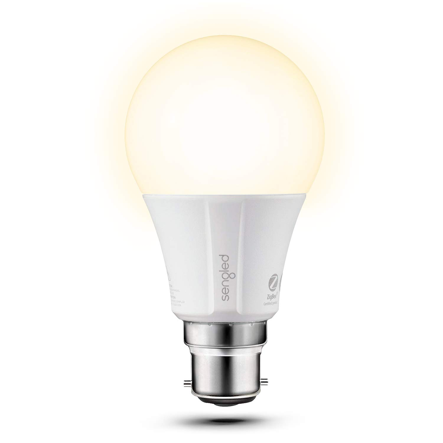 Sengled Element Classic Smart Bulb with B22 Base, Dimmable LED Light Soft White 2700K 60W Equivalent (Hub Required), Works with Alexa/Echo Plus/Google Assistant, 1 Pack E11-G33WA