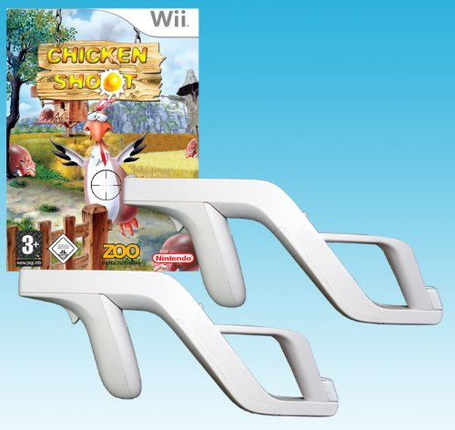 Chicken Wii Shoot (Chicken Shoot + 2 Zapper Guns Bundle)