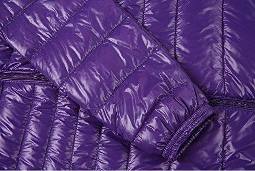 Grande Femme Ultra Plume Veronique Femme Violet Doudoune Veste 40 Légère Légère Taille Xwg8qq