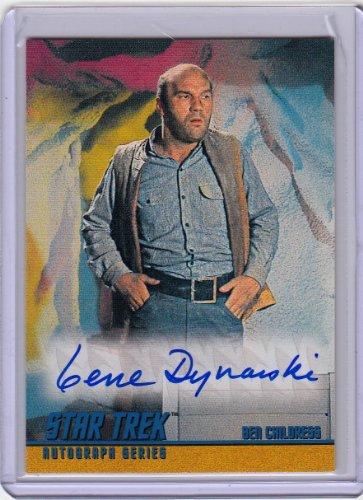 Heavenly body Trek TOS Gene Dynarski Autograph Card # A12