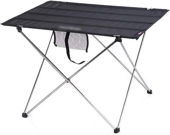 Fundas para muebles de jardín Mesas Mesas Plegables de Camping mesas de Picnic Mesa portátil Mesa Plegable y sillas de Auto-conducción Camping Barbacoa Mesa de jardín Mesa Plegable de Aluminio: Amazon.es: Hogar