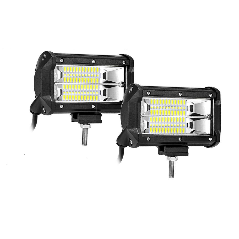 2 years Warranty AUTOSAVER88 4350386266 9 LED Light Bar 288W Pod Lights Offroad Fog LED Driving Lights for Trucks Pickup Jeep SUV ATV UTV