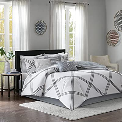 Madison Park Albany 7 Piece Cotton Comforter Set -  - comforter-sets, bedroom-sheets-comforters, bedroom - 51EaRgcUPEL. SS400  -