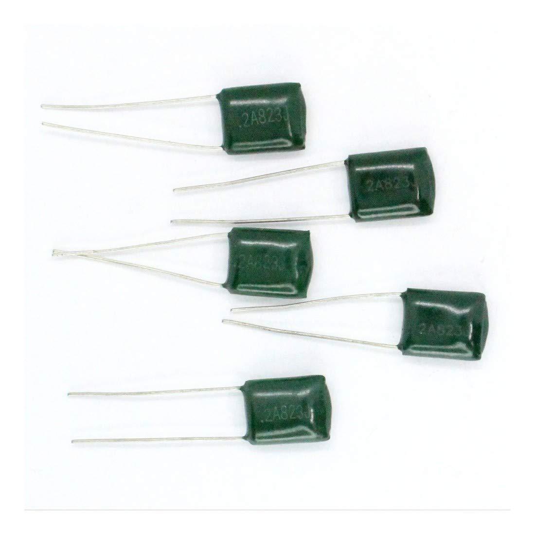 5x Condensateur Mylar 2A823-82nF 100v 14con098