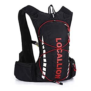 Local lion 10l professional outdoor cycling for Fishing backpack amazon