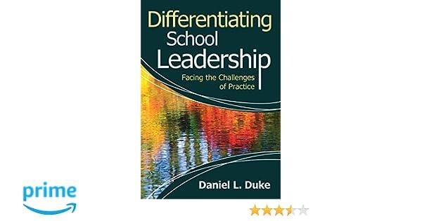 differentiating school leadership duke daniel l