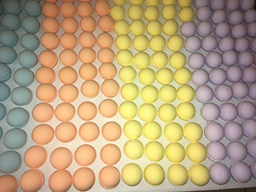 Wholesale Bath Bombs Large 3.5 oz/each – Luxury Organic & Natural Ingredients - Safe for Kids – Relaxing Epsom Salt,Lush Essential Oils – Handmade in USA - Spa Fizzies-Vegan (150) (Wholesale Bath Bombs)