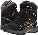 Salomon Kid's XA Pro 3D Winter TS CSWP Snow Boots, Black, Textile, Faux Fur, Rubber, 2 Little Kid M