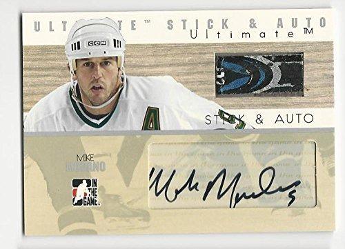 2007 ITG Ultimate Stick Auto Mike Modano # NM Near Mint MEM Auto ()