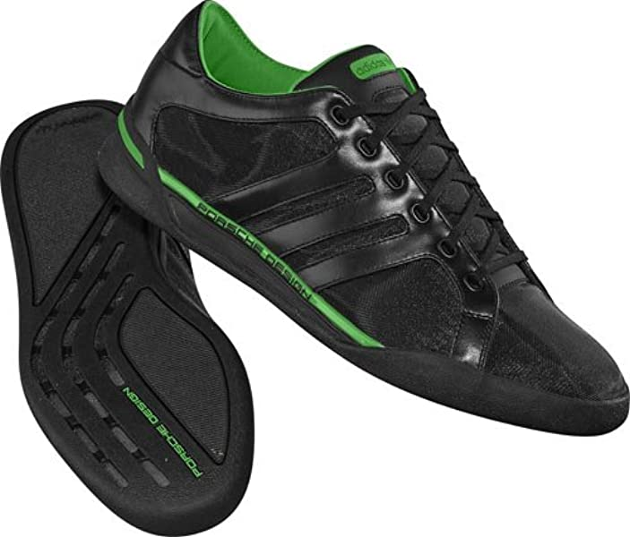 new arrival 75b8f d7040 adidas Porsche Design CL Nero, Uomo, Black Real Green, 46 2 3  Amazon.it   Sport e tempo libero