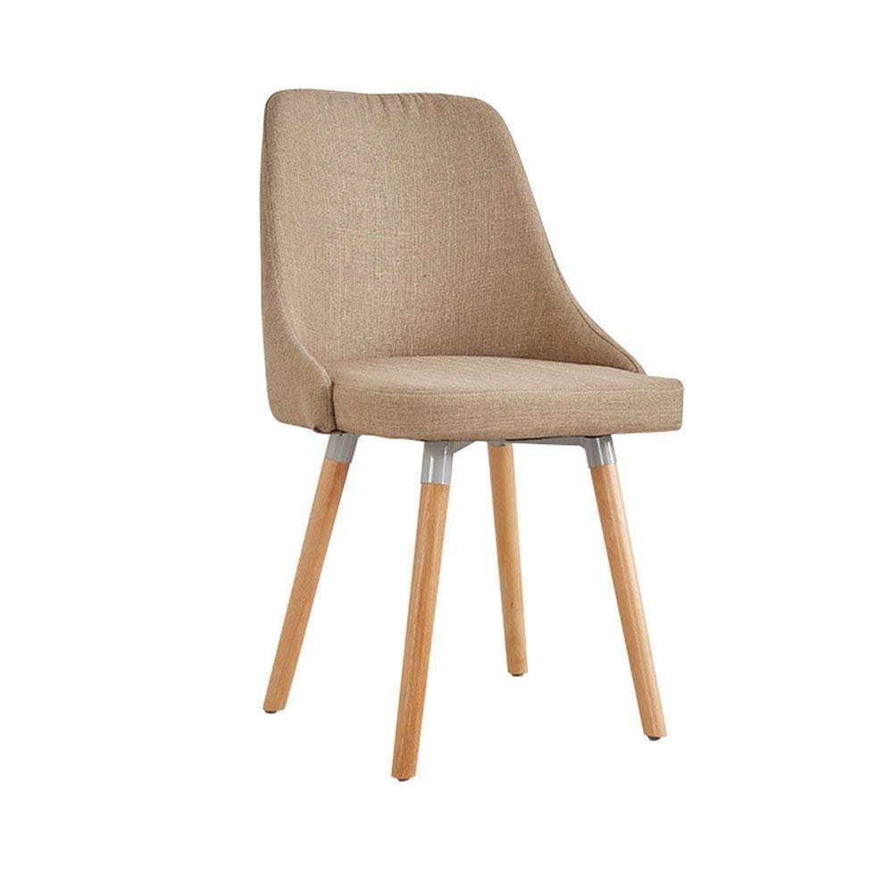 C BRNEBN Chair-European Chair Modern Simple Study Computer Chair Home Stool Back Adult Dining Chair Home Convenient (color   C)