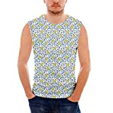 Best Baby Tee Time Baby Evers - Mens Baby Tank Top Sleeveless Tees All Over Review