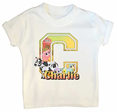 Farm Yard Animals Baby T Shirt