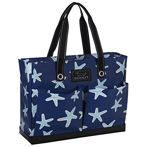 SCOUT Uptown Girl Medium Multi-Pocket Tote Bag, Water Resistant, Zips Closed, Fish Upon a Star Review