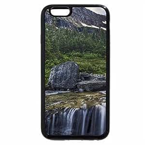 iPhone 6S Plus Case, iPhone 6 Plus Case, beautiful cascading mountain stream hdr
