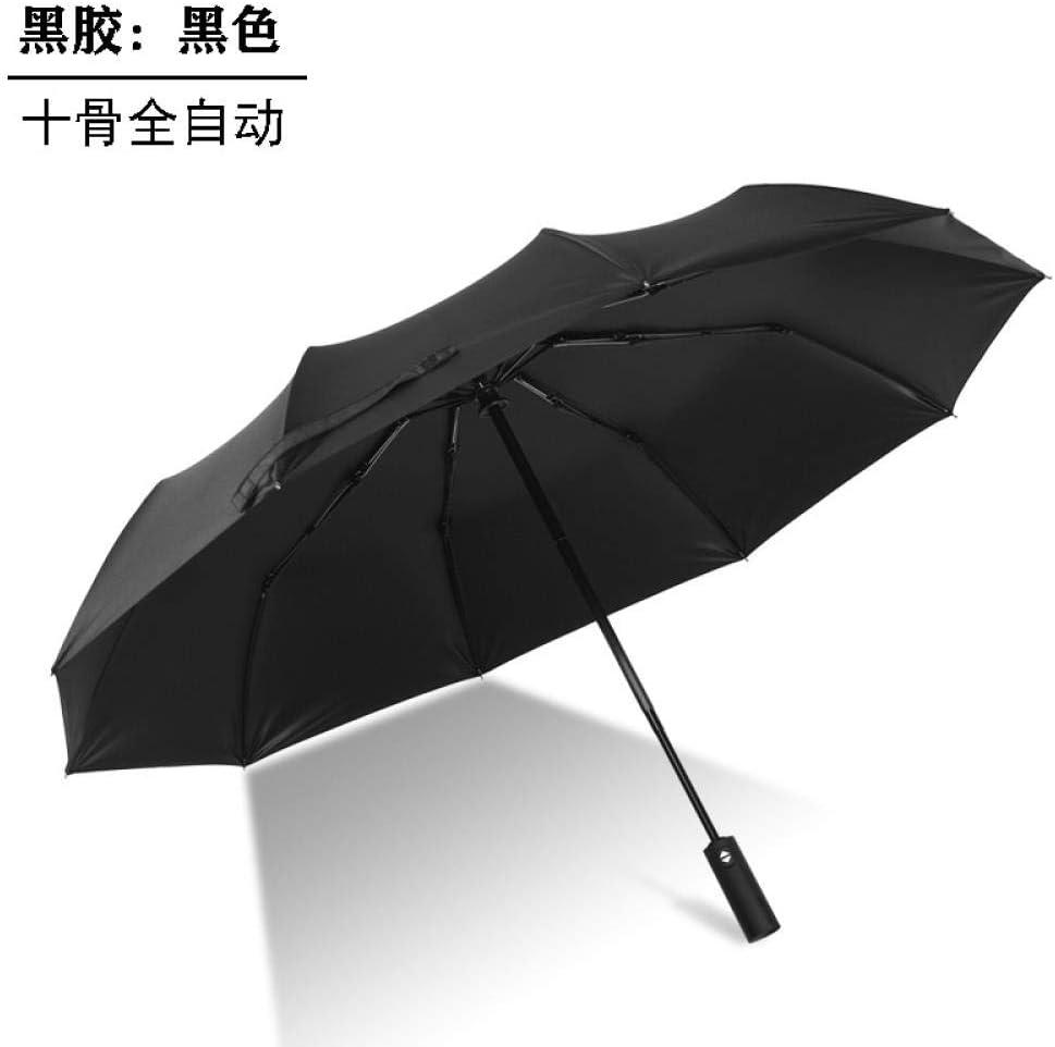 Folding umbrella - full automatic umbrella, black