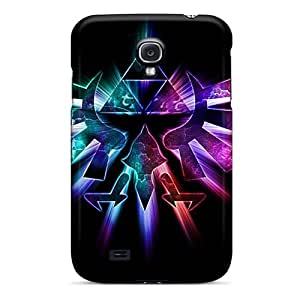 New MYg3383BwPQ Tri Force Tpu Cover Case For Galaxy S4