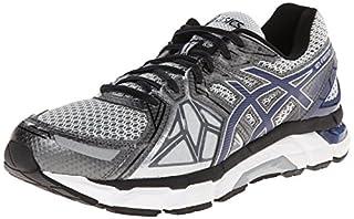 5e14dc35f5fd8 ASICS Men's Gel-Fortify Running Shoe,Lightning/New Navy/Charcoal,8.5 ...